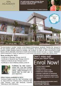 Enrolment ad amended 2015