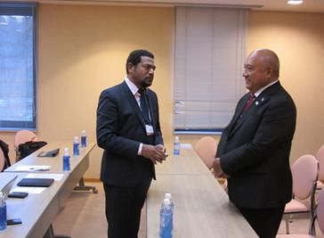 Minister Kubuabola & Minister Anthony