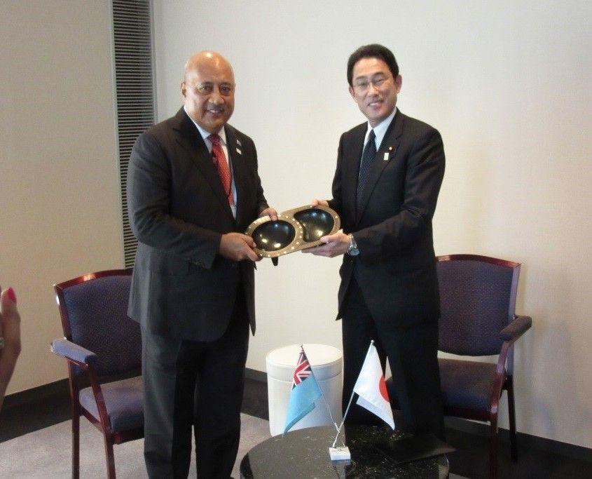 Minister Kubuabola & Minister Kishida March 2015